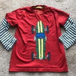 🌟Mini Boden boys long sleeve t shirt 5-6